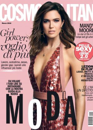Mandy Moore - Cosmopolitan Italy Magazine (March 2018)