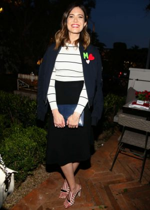 Mandy Moore - FashionABLE Equal Pay Day kick-off dinner in Los Angeles