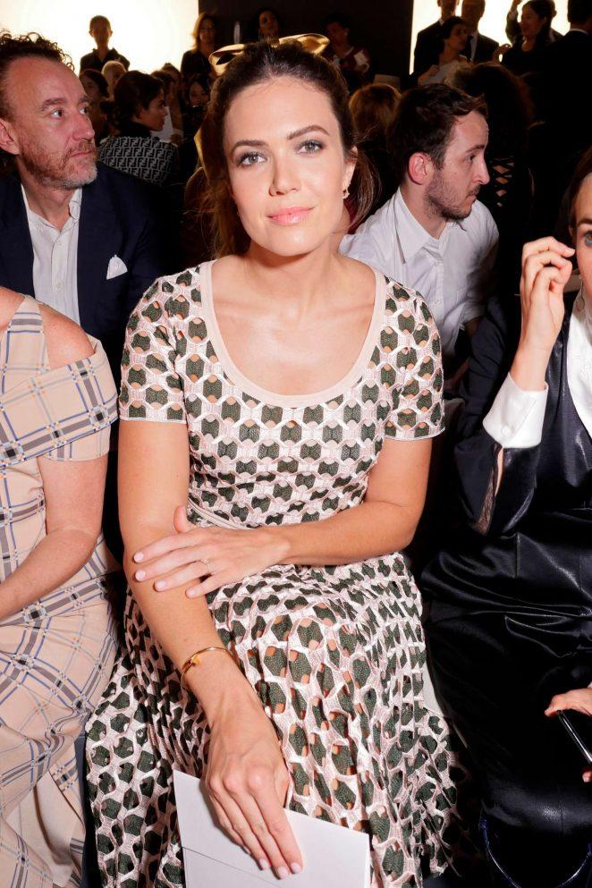 Mandy Moore - Fendi Haute Couture Show 2019 in Paris
