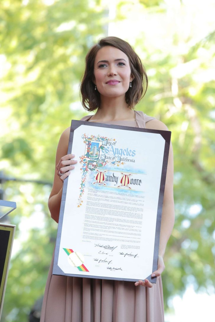 Mandy Moore: Getting her star on the Hollywood Walk Of Fame -09