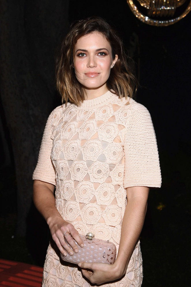 Mandy Moore - Lela Rose Los Angeles Dinner in LA