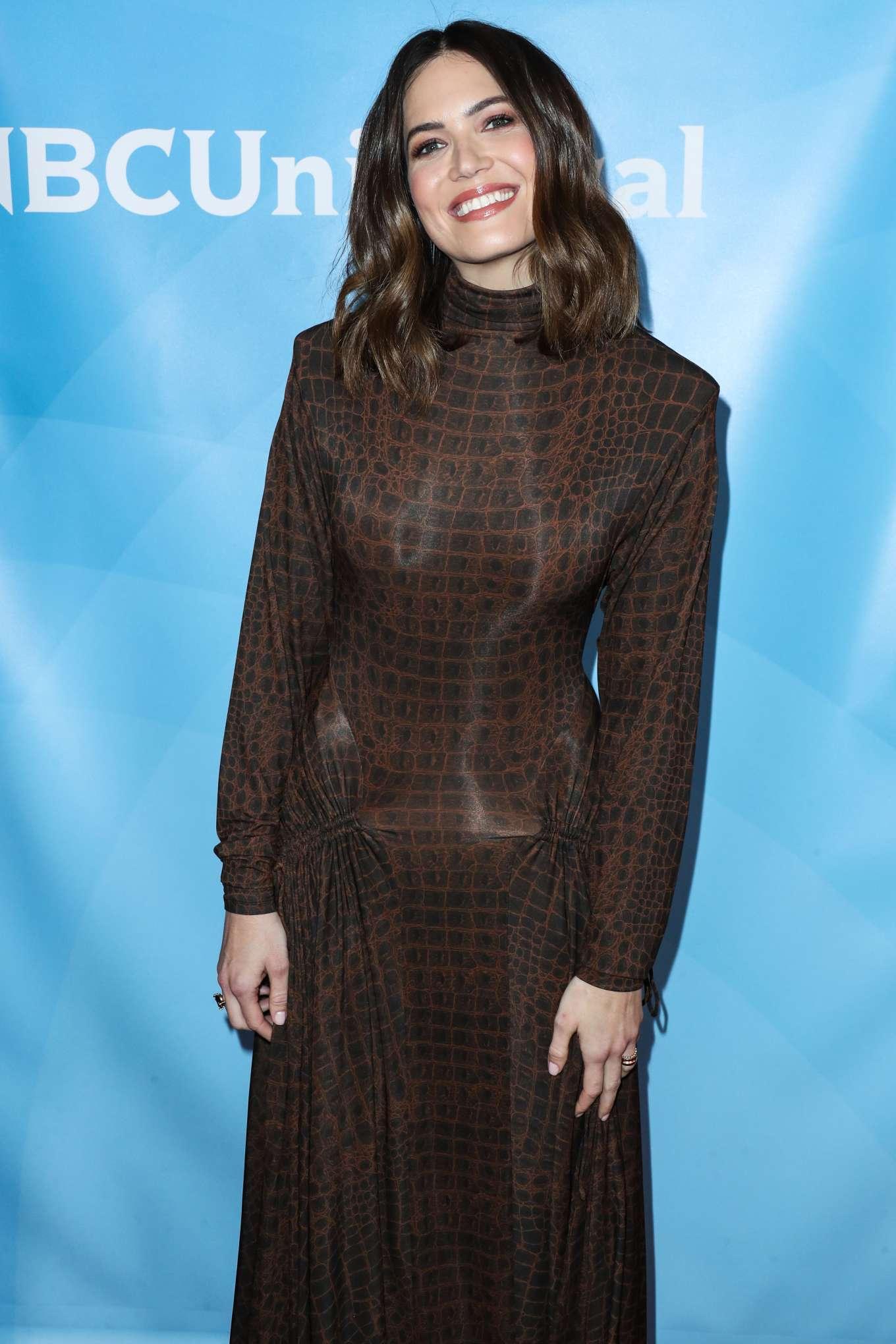 Mandy Moore - NBCUniversal 2020 Winter TCA Press Tour in Pasadena
