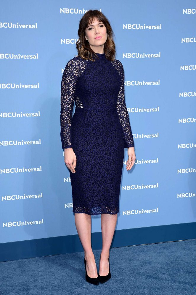 Mandy Moore: NBCUniversal Upfront Presentation 2016 -02