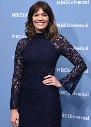 Mandy Moore - NBCUniversal Upfront Presentation 2016 in New York City