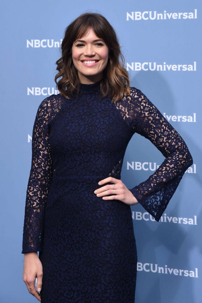 Mandy Moore – NBCUniversal Upfront Presentation 2016 in New York City