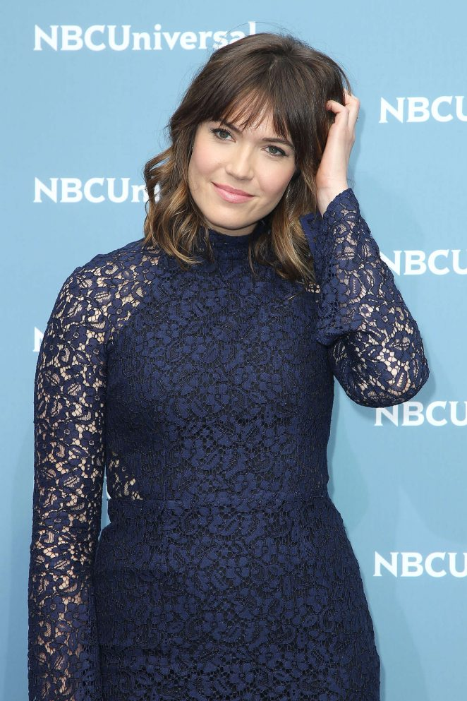 Mandy Moore: NBCUniversal Upfront Presentation 2016 -09