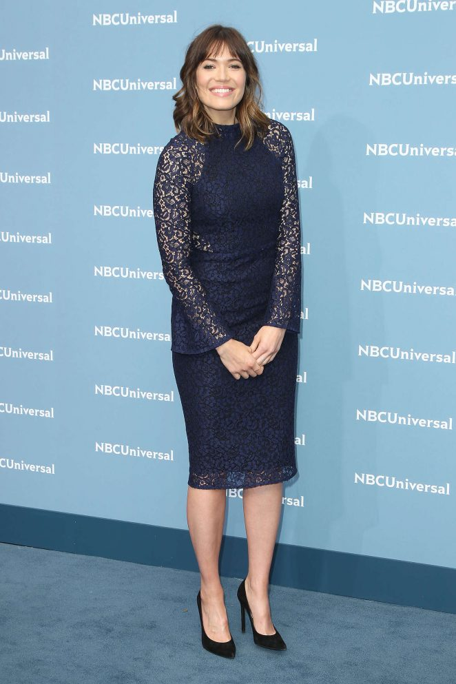 Mandy Moore: NBCUniversal Upfront Presentation 2016 -14