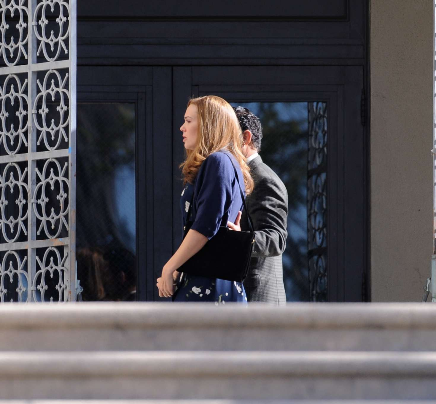 Mandy Moore - On the set of 'This Is Us' in Pasadena