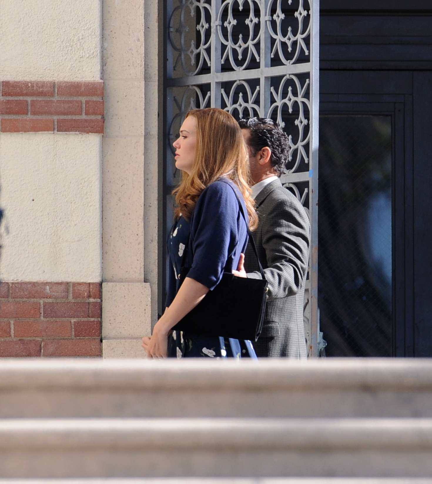 Mandy Moore 2019 : Mandy Moore: On the set of This Is Us -11