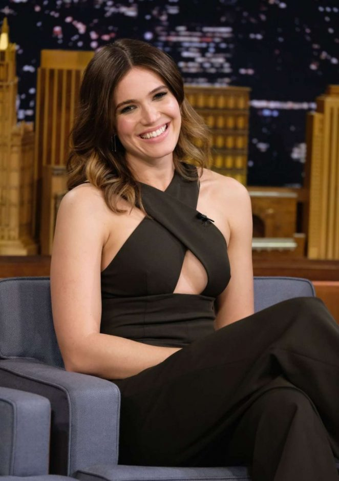 Mandy Moore on 'The Tonight Show Starring Jimmy Fallon' in NY