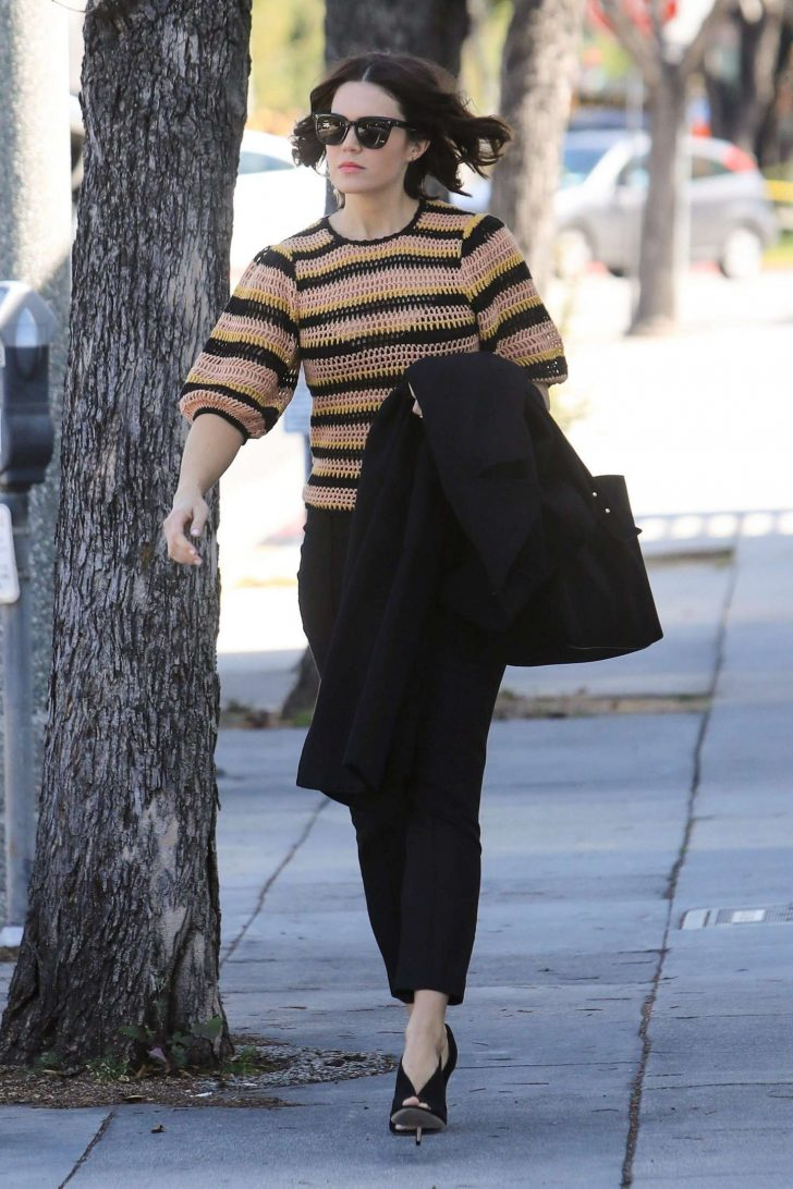 Mandy Moore: Out and about in Beverly Hills -01