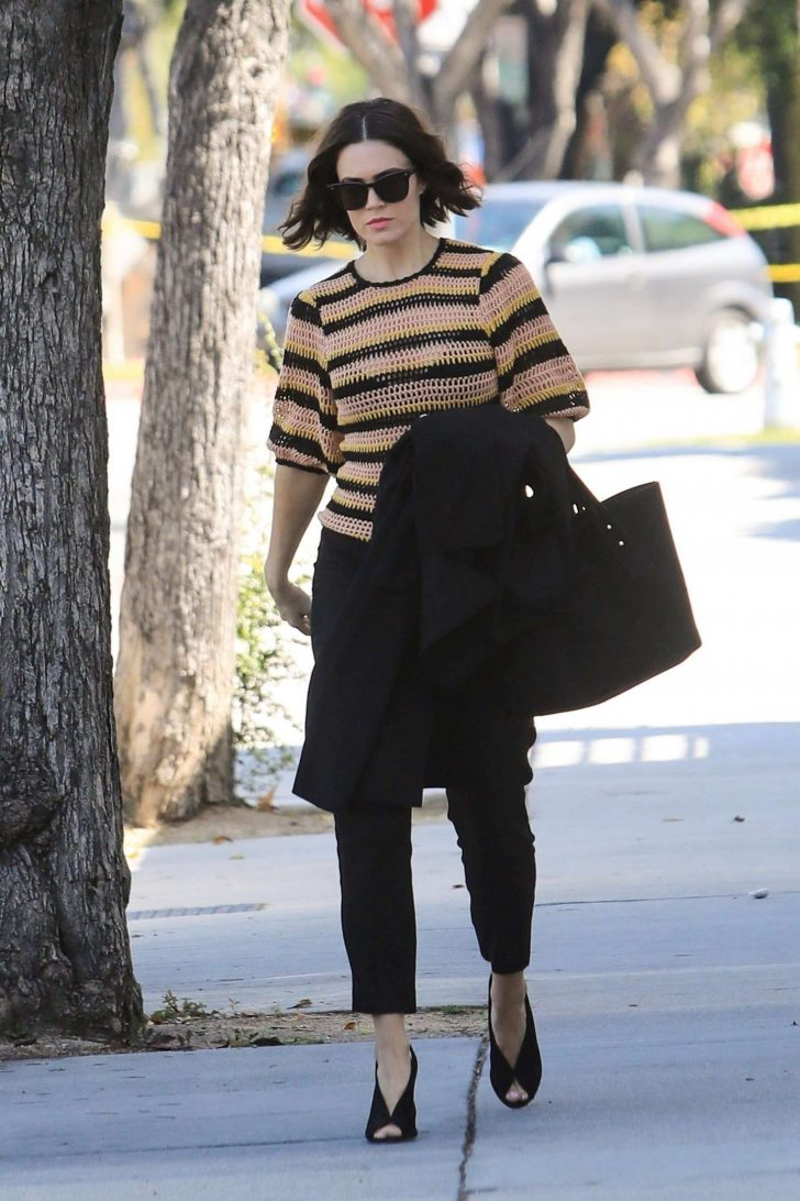 Mandy Moore: Out and about in Beverly Hills -05