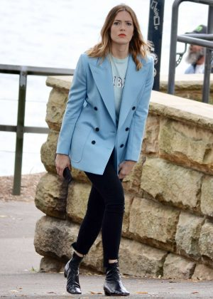 Mandy Moore out and about in Sydney