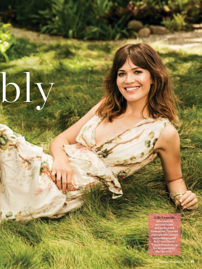 Mandy Moore - People Magazine (November 2017)