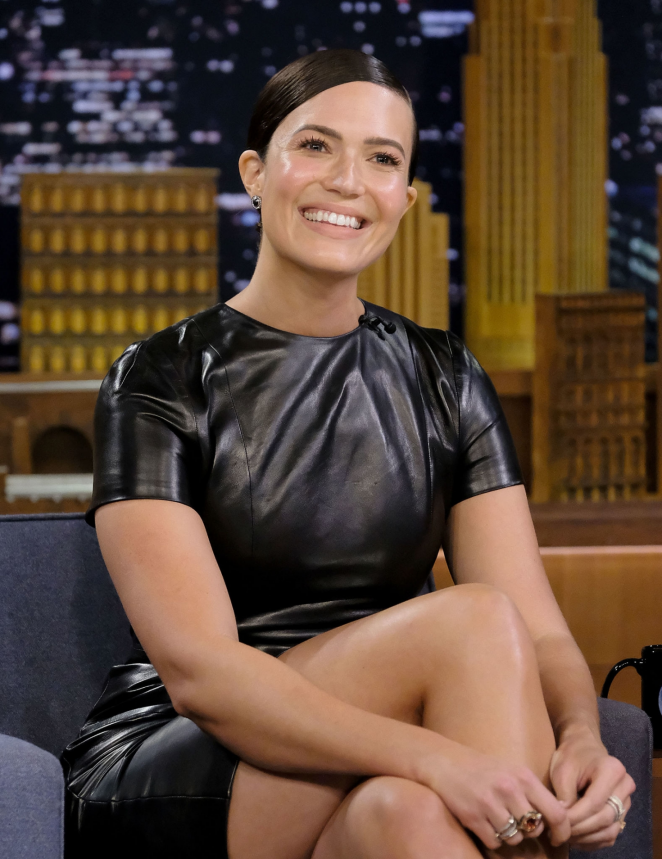 Mandy Moore - 'The Tonight Show Starring Jimmy Fallon' in NYC