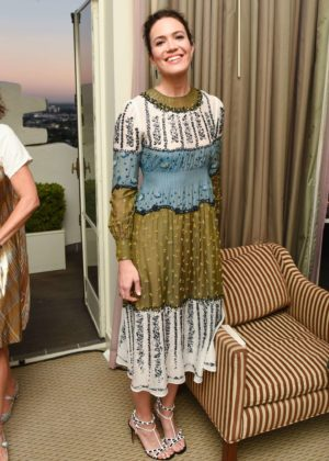 Mandy Moore - Valentino and Instyle Cocktail Party in Los Angeles