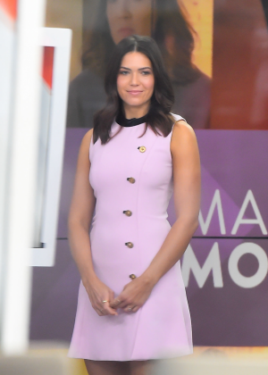 Mandy Moore - Visits Today Show in New York City