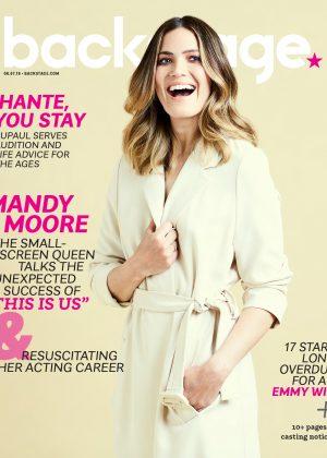 Mandy Moorefor Backstage Magazine (June 2018)