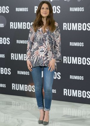 Manuela Burlo Moreno - 'Rumbos' Photocall in Madrid