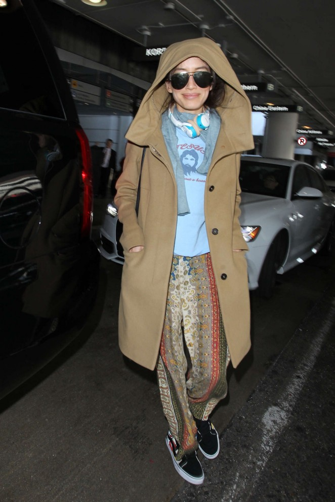 Mara Lane at LAX Airport in Los Angeles