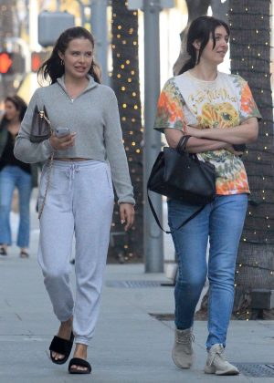 Mara Teigen and Brittny Gastineau - Shopping in Beverly Hills