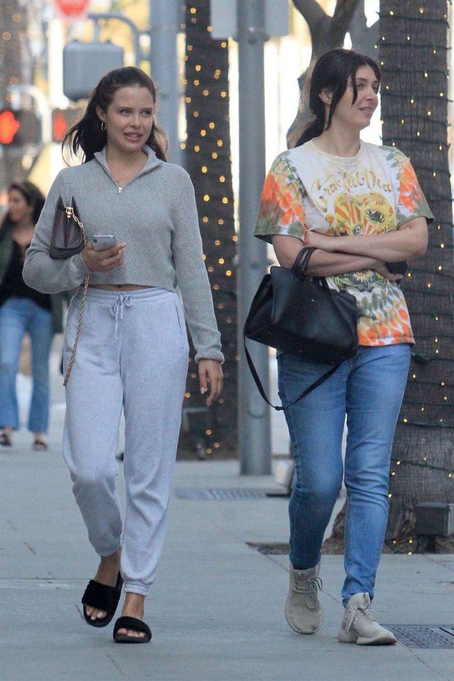 Mara Teigen and Brittny Gastineau - Shopping in Beverly Hills