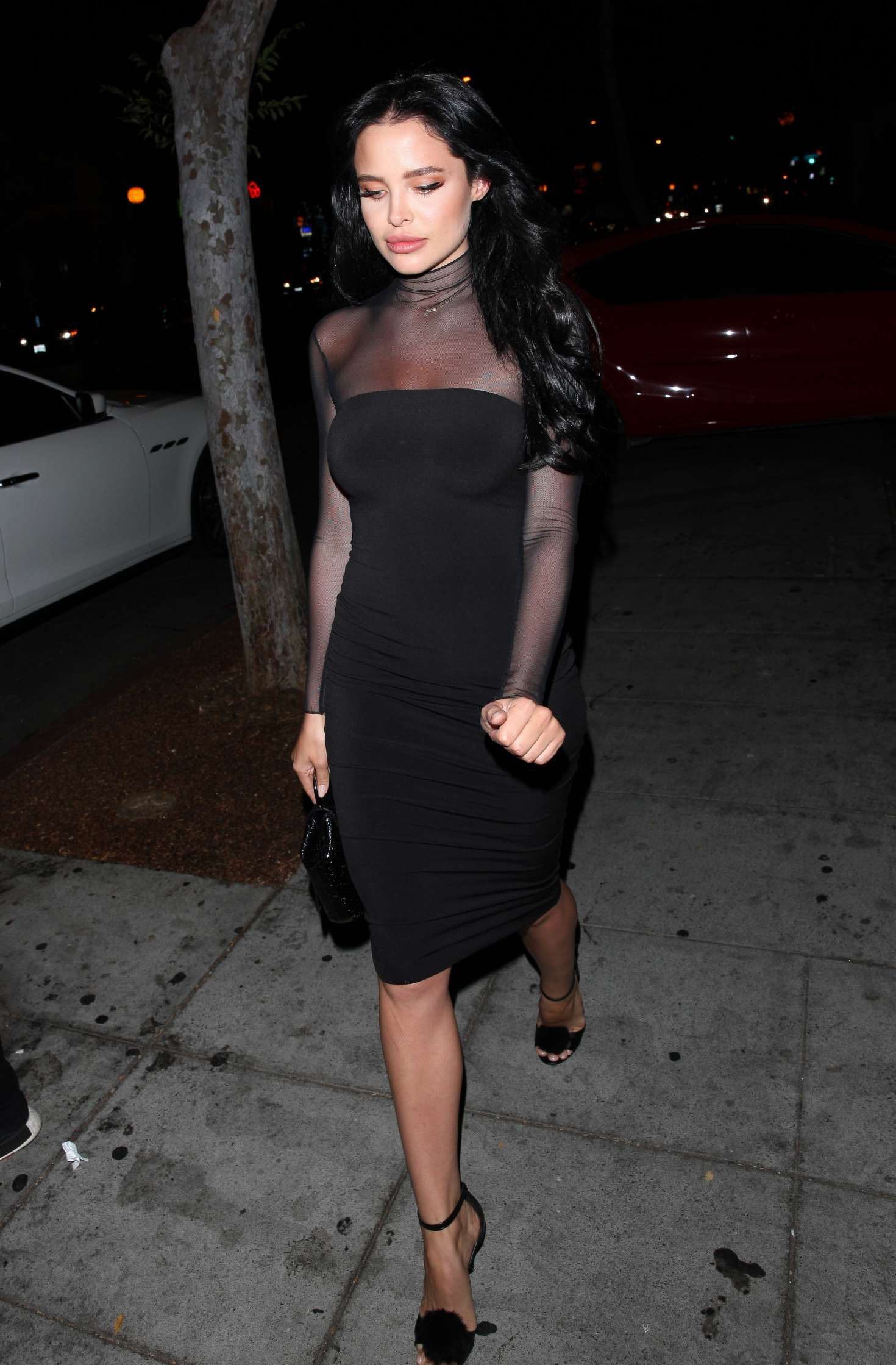 Mini Las Vegas >> Mara Teigen at Delilah club in West Hollywood