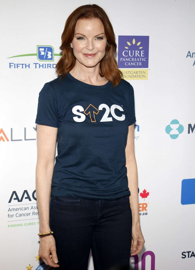 Marcia Cross – 5th Biennial Stand Up To Cancer in Los Angeles