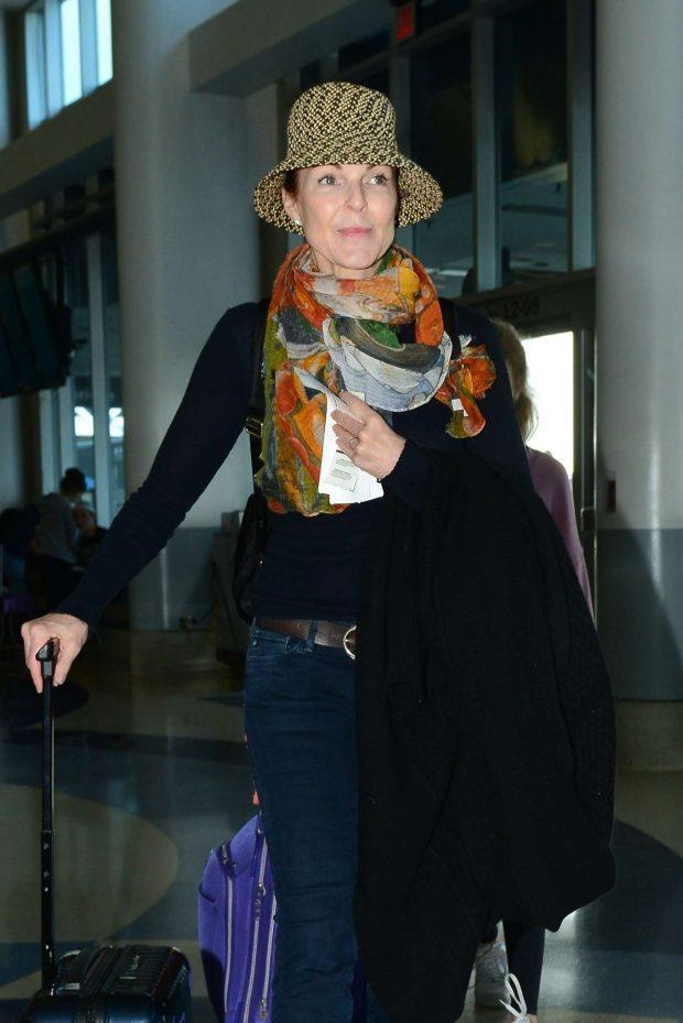 Marcia Cross - Arrives at LAX International Airport in LA