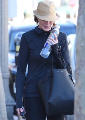 Marcia Cross - Leaving the gym in Beverly Hills