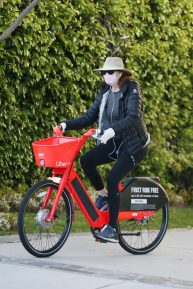 Marcia Cross - Out for a bike ride