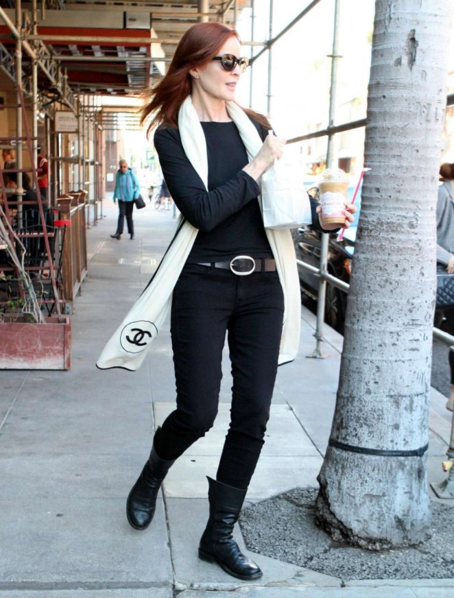 Marcia Cross in Tight Jeans out in Los Angeles