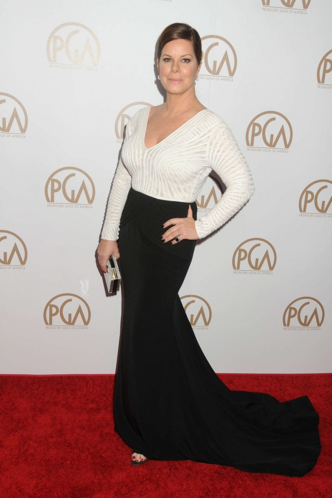 Marcia Gay Harden: 2016 Producers Guild of America Awards -01