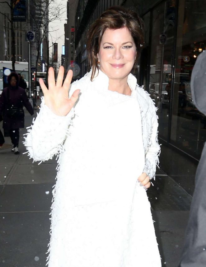 Marcia Gay Harden - Arrives at 'Today Show' in New York