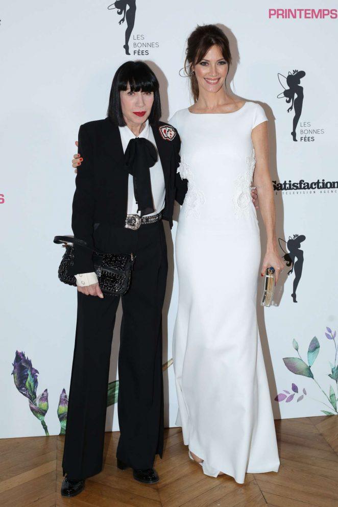 Mareva Galanter - Les Bonnes Fees Charity Gala in Paris