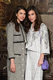 Margaret and Rainey Qualley - Chanel Metiers D'Art Fashion Show in Paris