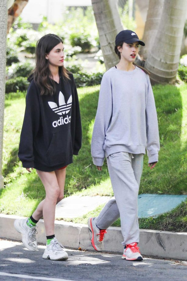 Margaret and Rainey Qualley - Out in Beverly Hills