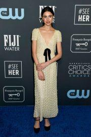 Margaret Qualley - 2020 Critics Choice Awards in Santa Monica