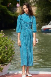 Margaret Qualley - Arrives to the Lido at 76th Venice Film Festival