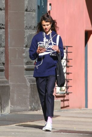 Margaret Qualley - Is spotted for the first time in New York City since split with Shia LaBeouf