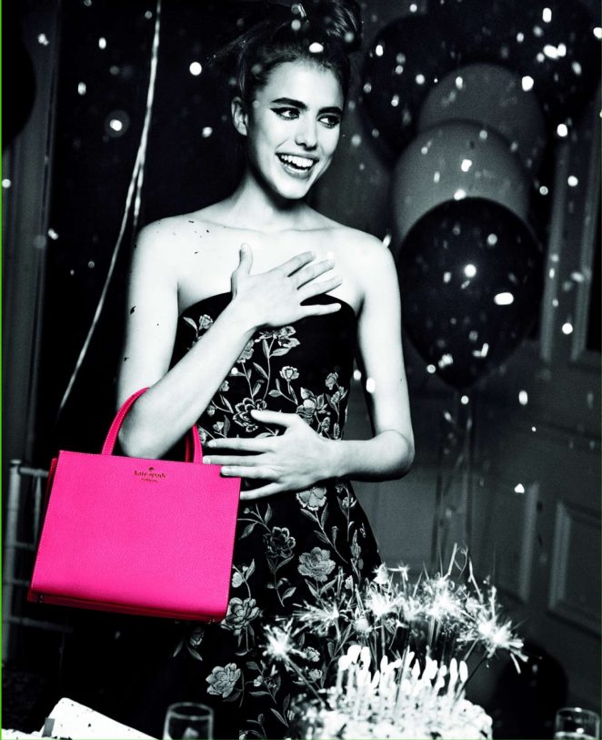 Margaret Qualley – Kate Spade SS 2018 Campaign