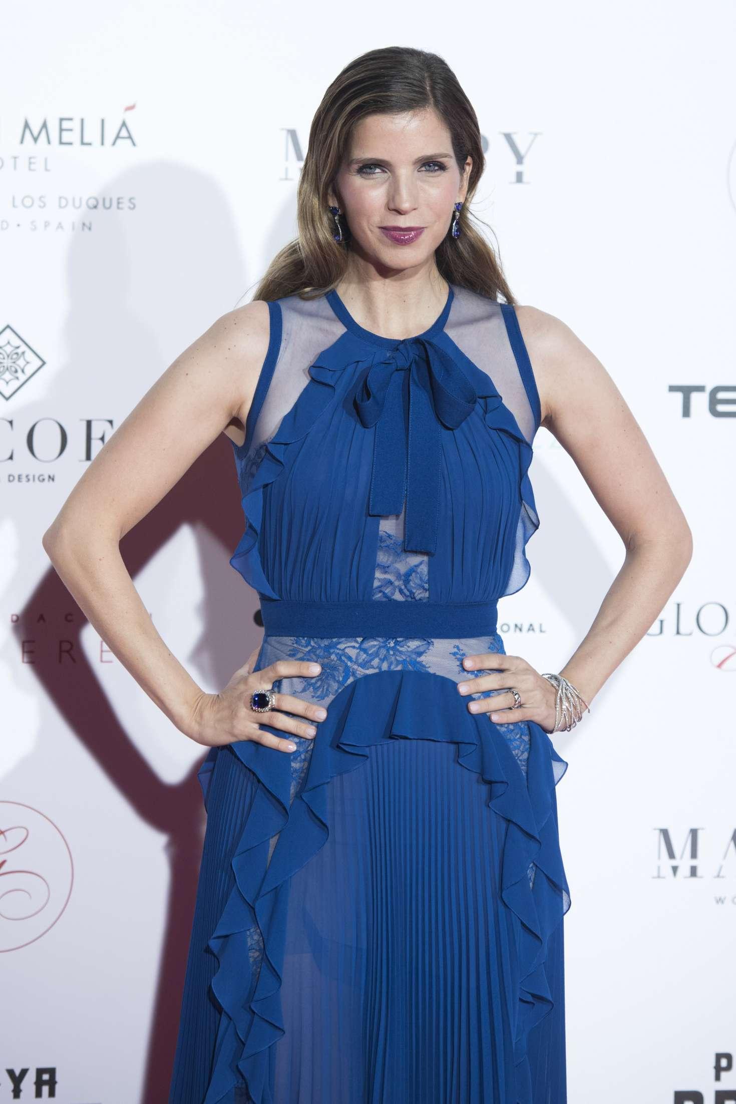 Margarita Vargas Santaella 2018 Global Gift Gala 08 Gotceleb Bargaz Dark Blue