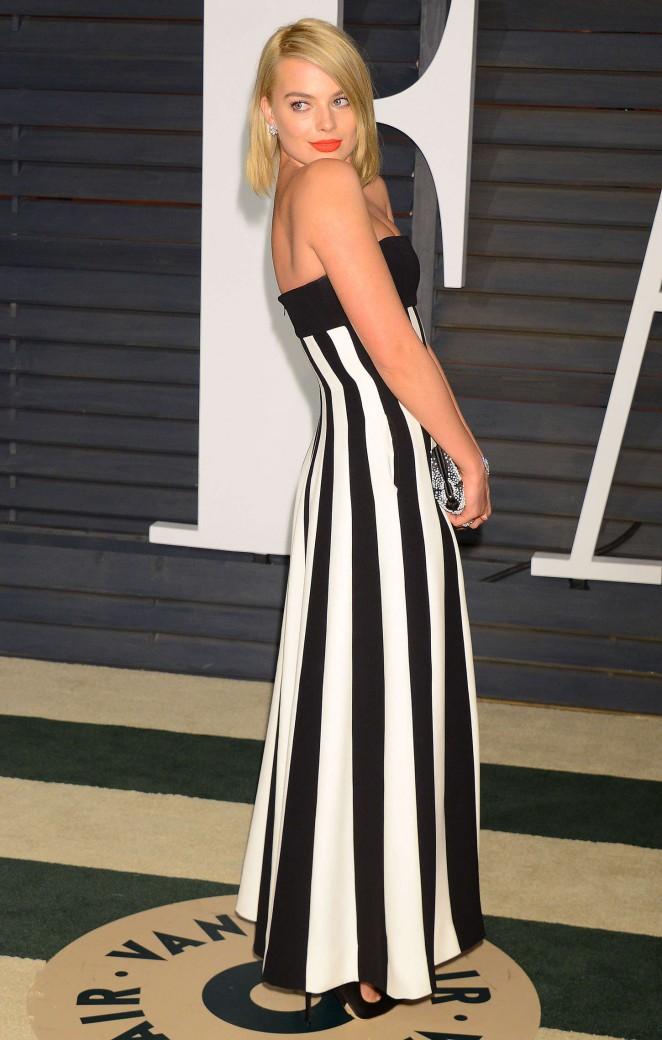 Margot Robbie - 2015 Vanity Fair Oscar Party in Hollywood adds