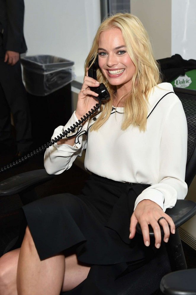 Margot Robbie - Annual Charity Day 2015 hosted by Cantor Fitzgerald and BGC in NYC
