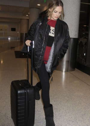 Margot Robbie at LAX Airport in LA