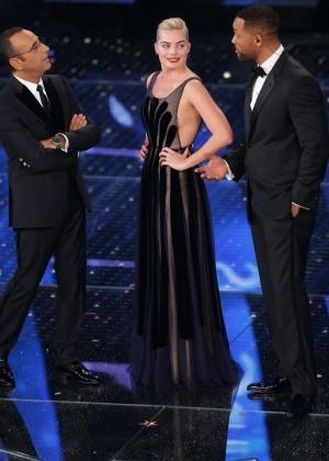 Margot Robbie at Sanremo 2015 in Sanremo