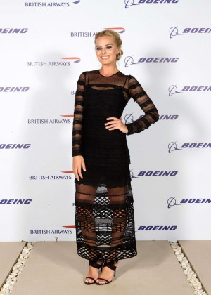 Margot Robbie - Boing 787-9 Launch in Abu Dhabi