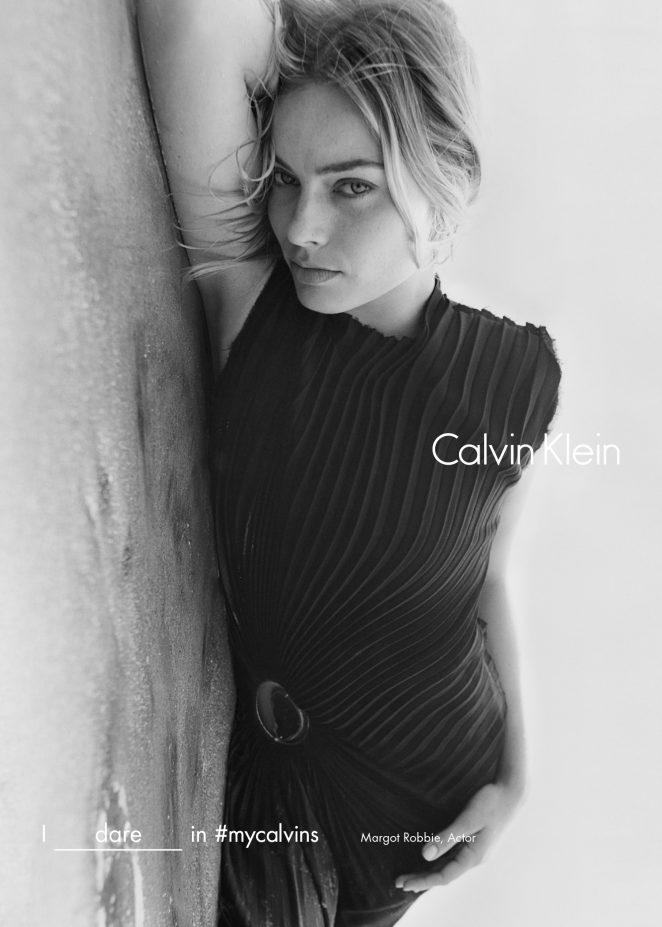 Margot Robbie – Calvin Klein #myCalvins Fall 2016 Campaign