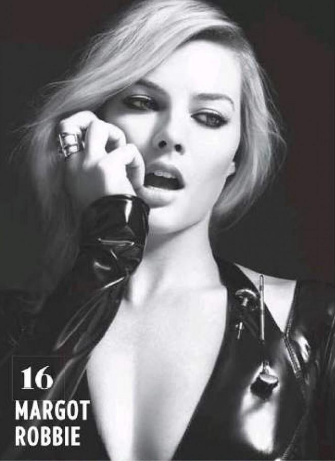 Margot Robbie - Cinemania Magazine (April 2015)