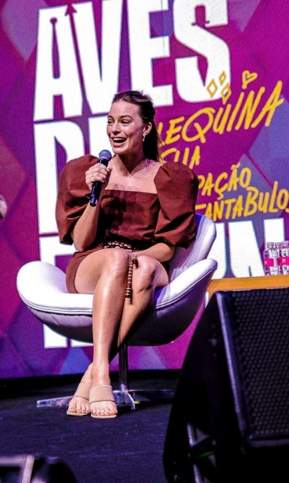 Margot Robbie - Cinemark Panel at CCXP 2019 in Sao Paulo